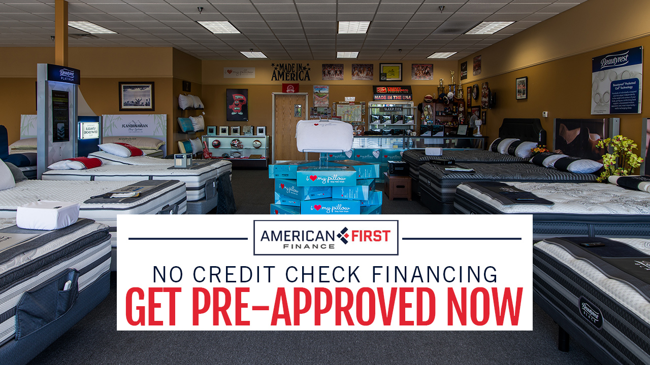 American First Financing at Trent Bedding