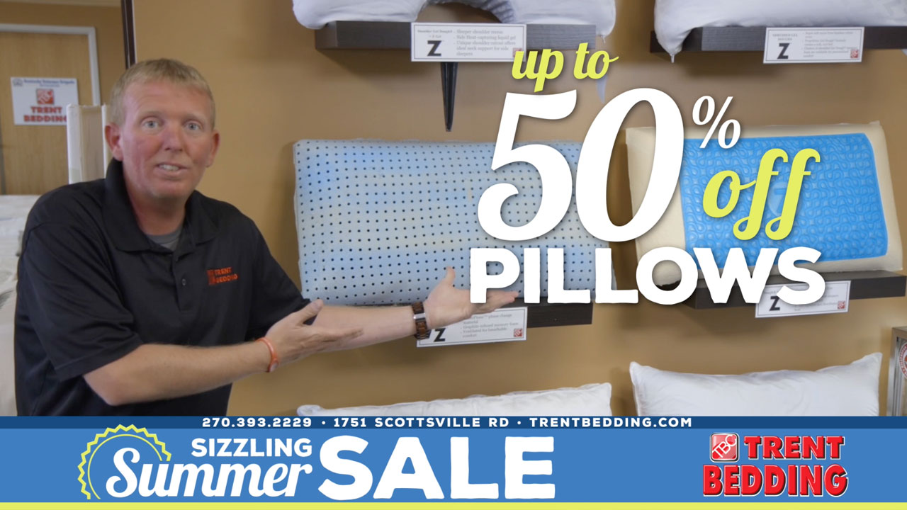 Trent Bedding Summer 2018 Cooling-Pillows Up To 50% Off Photo